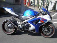 2009-2011 gsxr 1000 breaking parts spares