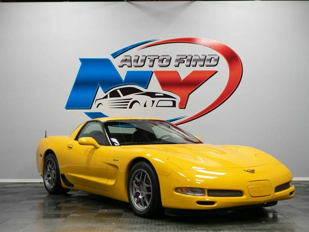 2001 Yellow Chevrolet Corvette Z06    C5 Corvette Photo 9