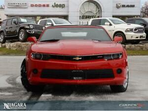 2015 Chevrolet Camaro 2LT | CONVERTIBLE | 6SPD MAN | LOADED!