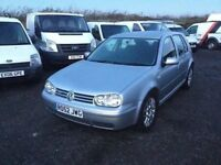AUTOMATIC VW GOLF V5 in lovely condition in and out DRIVES REALLY SMOOTH ALLOY WHEEKS CD ELECTRICS