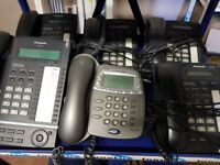 JOB LOT PANASONIC TELEPHONE KX-T665 X 4 KX-T7630 X 1 PLUS BT X 2 QTY 7 IN TOTAL