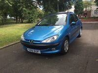 """PEUGEOT 206 GLX 5DR 1.6 PETROL """"FSH + DRIVES VERY GOOD + MUST BE SEEN AND DRIVEN"""""""
