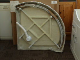 ROUND SHOWER CABIN SHOWER TRAY (BRAND NEW BOXED) 900 X 900 X 2100