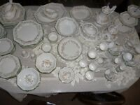 Johnson Bros Eternal Beau dinner and tea service plus extras - 110 + pieces