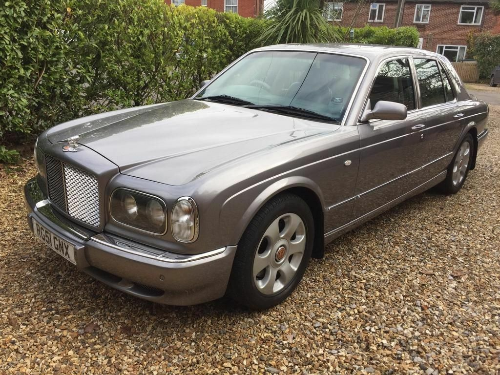 Bentley arnage red label silver 2001 in southampton hampshire bentley arnage red label silver 2001 vanachro Choice Image