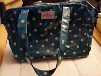 Cath Kidston polka dot tote bag handbag