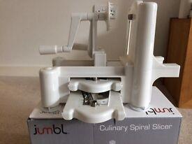 Sprializer and Slicer- Never been used, Jumbl Culinary Spiral Slicer