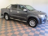 2014/14 Toyota Hilux 3.0 D4D Invincible, 1 Private Owner, 15,000 Miles, High Spec, No Vat