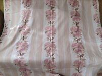Blush pink Designer Remnant Fabric for Curtains/ upholstery/ sewing/ cushions Prestigious Textiles