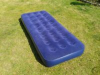 Gelert Single Flock Air Bed / Matress