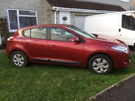 Renault Megane. Excellent condition. Full service and mot in August. Good tyres all round.