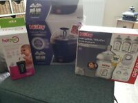 Baby bottle sterilizer package