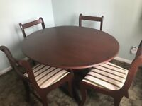 Dining Table & Chairs Collection only