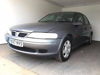 2001   Vauxhall Vectra 1.8 LS   Manual   Petrol   1 Year MOT   HPI Checked