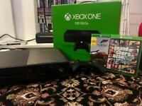 Xbox One with 2 games & 1 controller