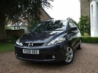 2006 Mazda 5 2.0 Sport petrol, MPV, Carbon Grey, 7-seater, Great family car