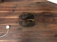 Men's Camel Boots, Size 7