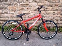New Raptor 24″ Front Suspension Mountain Bike RRP £225