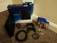 PS4 500GB + 6 games + PS4 Camera + 2 controllers