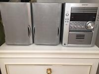 Sharp 3 disc stereo