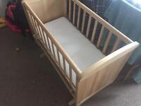 Ikea rocking crib