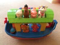 Noahs Ark musical toy Kiddieland
