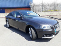 2008(08)AUDI A4 1.8 TFSi SE MET GREY,LOW MILES,6 SPEED,LOVELY CAR,GREAT VALUE