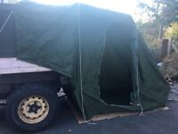 Land Rover Caranex H4 (not roof) Tent / Awning Expedition 4x4 Show Drive Away