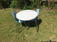 John Lewis kids outdoor table and chairs