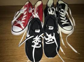 Size 12.5 shoes