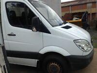58 PLATE MERCEDES BENZ 311CDI DROPSIDE X-LWB TRUCK 104000MILES £6500 PLUS VAT