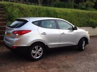 Hyundai IX35,Park Sensors,Good Condition,50 MPG,3 New Tyres,MOT 04/18,selling as getting company car
