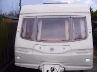 Avondale Argente 550/4S 2004/5 Luxury 4 Berth Caravan With Motor Mover