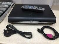 Sky Plus HD Box with remote & cables