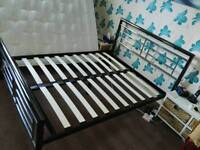 GONE!! DOUBLE BED FRAME (FREE. MUST GO TODAY)