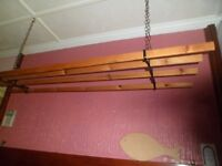 Old style ceiling clothes airer