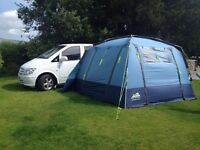 New camper conversion of a Mercedes Vito