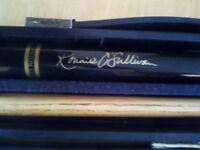 Snooker Cue (2-piece) plus Case. Ronnie O Sullivan BCE Cue