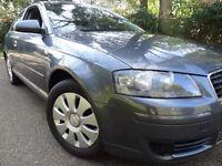AUDI A3 SPORTBACK 1.9 DIESEL TDI MANUAL CHEAP INSURANCE CHEAP CAR LIKE FORD FOCUS VW GOLF