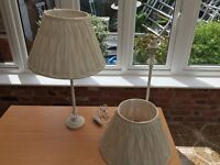Cream Bedside Table Lamps