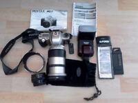 Pentax MZ 7 Non Digital Camera & Accessories for Sale
