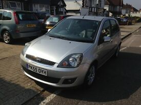 Cheap five seater car Ford Fiesta, low millage
