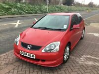 Honda Civic Sport - One Owner From New - New MOT - Full Service History - Superb Condition