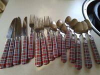 16 piece cutlery set & condiment set.still here still for sale