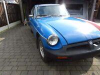 1976 MG B GT