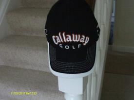 """""""CALLAWAY"""" BLACK GOLF CAP"""