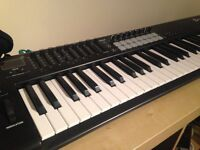 Novation Kaunchkey 61 MIDI Contraller (with sustain pedal) 150 pounds.