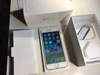 IPhone 6 - 64gb - unlocked - boxed - silver / white
