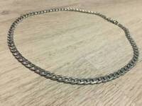 Brand new Silver plated chain
