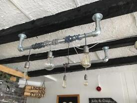 Industrial Pipe Ceiling Light